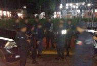 Los 18 agentes de Tingambato y 27 de Ziracuaretiro, entre ellos, directores y subdirectores de Seguridad Pública, se reincorporaron a sus labores para continuar con la estrategia de seguridad en sus municipios
