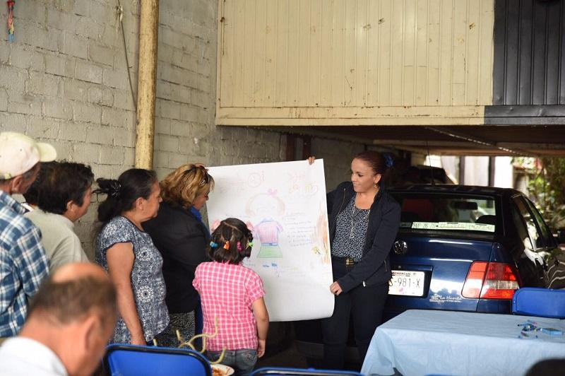 De manera conjunta con la Comisión Estatal de Derechos Humanos, la representante del Distrito XVII se reunió con vecinos de la Colonia Obrera para que conozcan a cabalidad sus garantías
