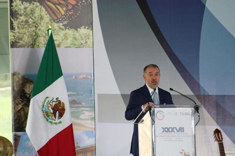 Cervantes Andrade informó que la consulta nacional para el análisis del Nuevo Sistema de Justicia Penal Acusatorio toca temas de suma importancia y permitirán saber en dónde estamos y que los cambios de procedimientos sean específicos