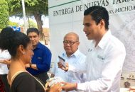 Los cientos de beneficiarios se mostraron contentos por los apoyos que se les otorgan a través de los programas sociales que LICONSA entrega para ellos
