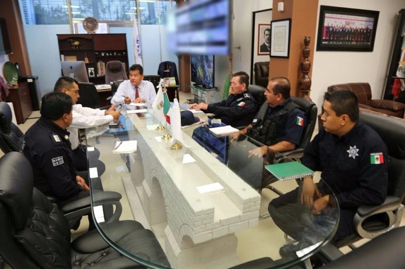 Juan Bernardo Corona destacó que la SSP apoyará a los municipios para reforzar las acciones operativas y así abonar al bienestar social de los pobladores