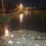 Una vez más, la basura en los drenes fue la causa principal de las contingencias que se presentaron por la lluvia