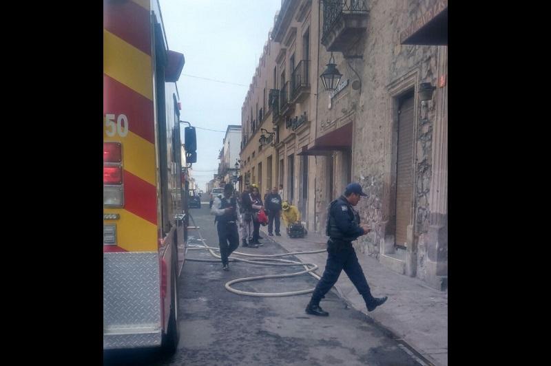 Roban tres negocios en el Centro Histórico de Morelia
