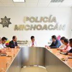 """""""El encuentro se dio para acordar qué de forma se reforzará el trabajo que se hace en Ciudad Industrial en materia de seguridad ya que las condiciones del lugar lo requieren"""", afirmó el secretario de Desarrollo Económico"""