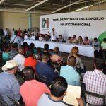 Silva Tejeda tomó protesta al nuevo Consejo Político Municipal, al secretario técnico y a la comisión de procesos internos de Múgica