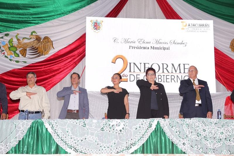 """López Bautista sostuvo que generando sinergias con los alcaldes, se han dejado atrás prácticas centralistas y """"hoy Michoacán se está transformando con un intenso trabajo en los municipios"""""""