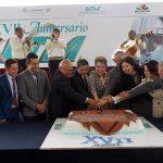 El rector José Hernández Arreola destaca el crecimiento de la infraestructura de la casa de estudios.