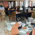 Los trabajadores señalaron que de no haber solución antes de que los más de 45 mil alumnos regresen a sus actividades escolares este próximo lunes, las acciones se radicalizarán hasta que se cumplan las cláusulas plasmadas en las condiciones generales de trabajo