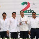 Silvano Aureoles destacó que para lograr dicho propósito, la declaratoria de la Zona Económica Especial de Lázaro Cárdenas y La Unión, Guerrero, marca un parteaguas, pero enfatizó en que el reto es hacer de la ZEE un área incluyente y sensible a un desarrollo integral