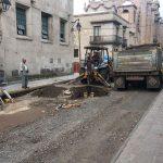 Estos trabajos son adicionales a la obra de Rehabilitación de Banquetas en las calles Santiago Tapia y Valentín Gómez Farías del primer cuadro de la ciudad