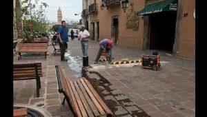 De esta forma, hasta la fecha el muy anunciado proyecto de peatonalización del Centro Histórico de Morelia se está consolidando como una obra pública consistente en casi puras banquetas ampliadas