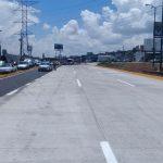 Mientras tanto, la dependencia estatal continúa trabajando en el tramo comprendido entre el kilómetro 17+400 y el 17+270 del Periférico poniente de Morelia, en su sentido Norte – Sur, a un costado del túnel vehicular de la salida a Quiroga con dirección a la salida a Pátzcuaro
