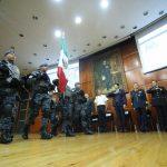 """""""En Morelia, estamos adecuando un modelo de Policía acorde a las acciones de la Gendarmería, apelando a la cercanía con la ciudadanía, la comunicación, generando vínculos de confianza y atacando la inseguridad con atención a los morelianos"""", dijo Martínez Alcázar"""