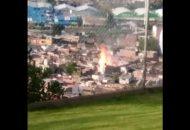 Se registra una intensa movilización de los cuerpos de auxilio en esa zona de la ciudad