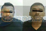 Ambos detenidos cuentan con antecedentes penales y uno de ellos cuenta con un proceso de investigación por extorsión