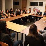 Núñez Aguilar acotó que los jóvenes parlamentarios deben aportar iniciativas que coadyuven en la agenda pública
