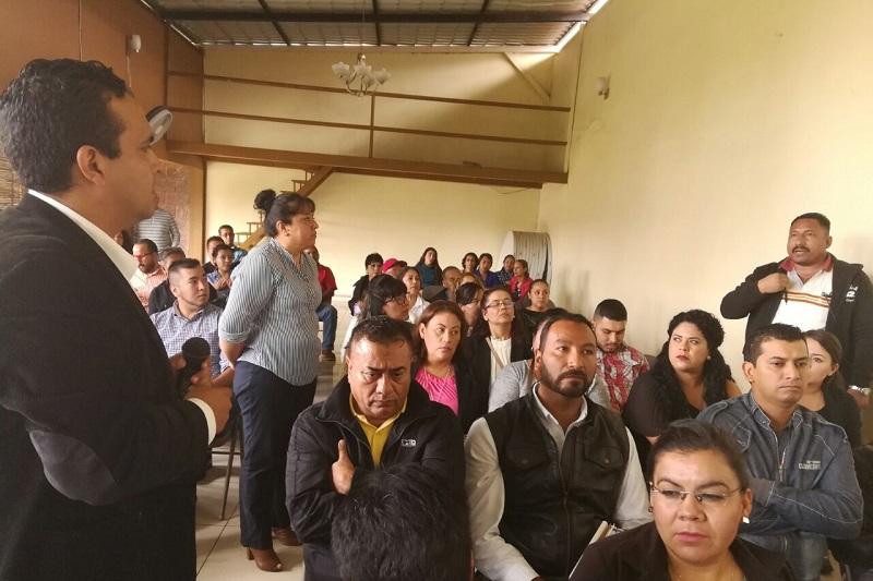 El IMAIP continúa implementando capacitaciones a miembros de sindicatos pertenecientes a instituciones públicas del estado de Michoacán, expresó el consejero presidente del Instituto