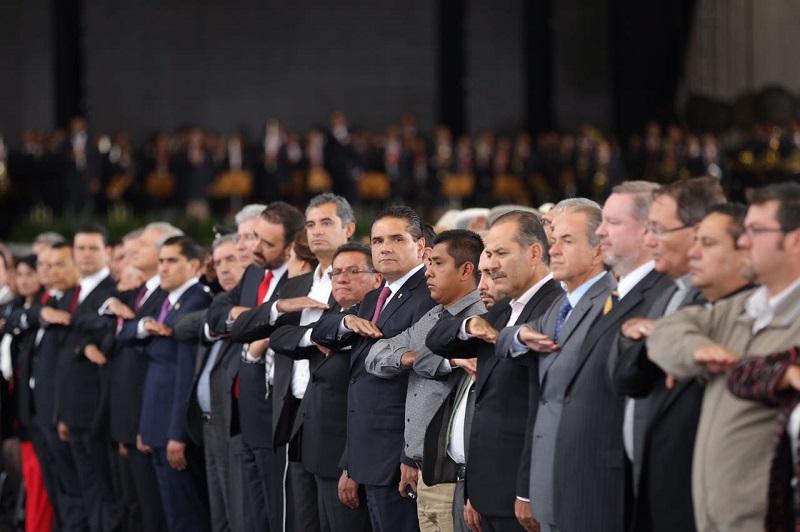 Aureoles Conejo se pronunció por seguir colaborando con las y los gobernadores de las diversas entidades, independientemente de filiaciones partidistas