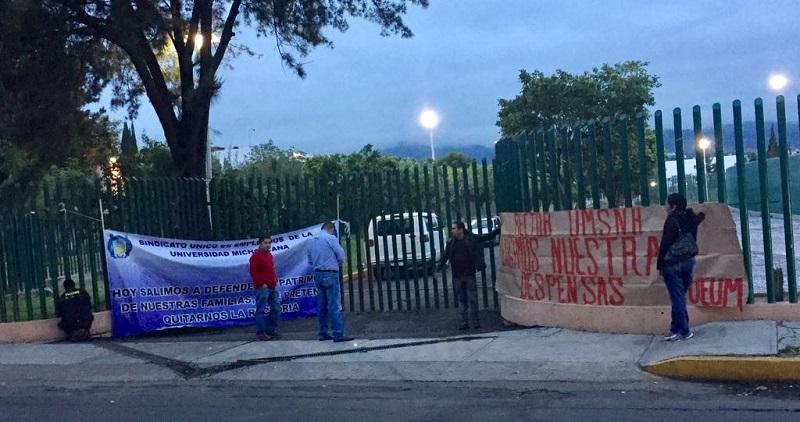 """Serna González agregó que el sindicato quiere que se ceda a sus peticiones por medio de presiones, """"pero así no vamos a llegar a ningún acuerdo que beneficie a los trabajadores o a la propia universidad"""""""