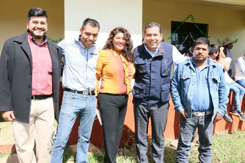 El jefe de tenencia de San Miguel del Monte, Ernesto Cruz Velázquez, agradeció el apoyo brindado por el Gobierno del Estado