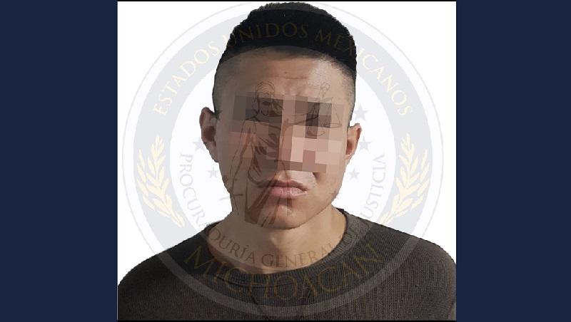 El ahora detenido fue presentado ante el juez de control a efecto de que sea resuelta su situación jurídica por el delito de homicidio