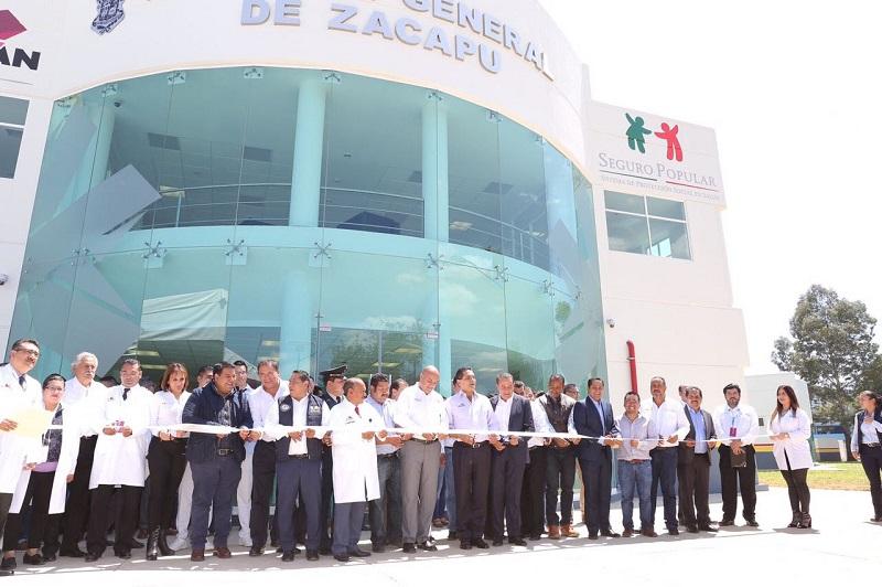 Cumple Silvano Aureoles el compromiso de terminar la obra que fue abandonada desde el 2011; tuvo una inversión de 200 mdp