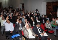 En otro de los puntos de la orden del día, se aprobó llevar a cabo la sesión solemne de Consejo Universitario el próximo 5 de octubre en homenaje al fundador de la Universidad Michoacana de San Nicolás de Hidalgo, Pascual Ortiz Rubio