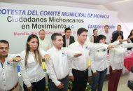 El padrino de la Asociación Civil, Antonio García Conejo, exhortó a quienes conforman este comité, a trabajar de manera directa con la ciudadanía, la participación activa de la sociedad es fundamental para realizar grandes cambios