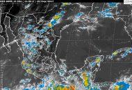 Además, se prevén lluvias con intervalos de chubascos en áreas de Sonora, Chihuahua, Coahuila, Nuevo León, Zacatecas, Colima, Guanajuato y Querétaro, y lluvias dispersas en Baja California Sur, Tamaulipas, San Luis Potosí y Aguascalientes