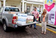 La directora general del Sistema DIF Michoacán, Rocío Beamonte, hizo un llamado a la población michoacana a ser solidaria y brindar ayuda a quien en este momento atraviesa un momento complicado