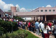 En Morelia al momento no se tienen reporte de daños o lesionados, solamente la evacuación de algunos inmuebles