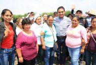 Aureoles Conejo comprometió la rehabilitación de la Escuela Secundaria No. 34, otra de las principales solicitudes de la ciudadanía