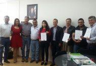 Los nombramientos fueron entregados por el secretario Técnico, Santiago Méndez Robledo, los subsecretarios Rubén Medina Niño y Carlos Torres Robledo