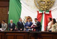 Por su parte, el diputado Roberto Carlos López a nombre del Grupo Parlamentario del PRI enfatizó que en esta administración aún sigue siendo el talón de Aquiles la seguridad pública