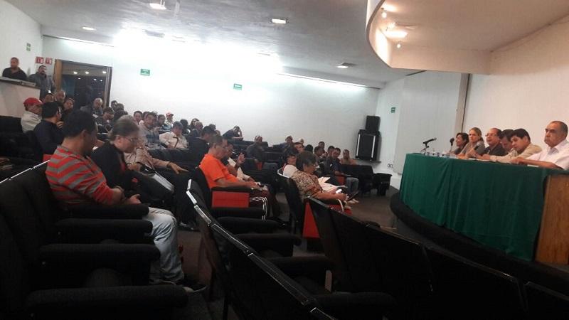 En esta ocasión, al Auditorio del Planetario de Morelia le tocó asistir a José Luis Gil Vázquez, Secretario de Servicios  Públicos Municipales quien recibió las peticiones la mayoría de ellas, referentes a la falta de seguridad en colonias, bacheo de calles en mal estado, falta de luminarias y otras