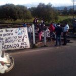 Hasta el momento los bloqueos se registran en Morelia, Charo, Maravatío, Pátzcuaro y Taretan