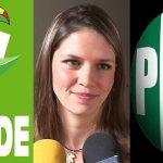 Aunque tiene ADN priísta, hasta la fecha sigue registrada como diputada del Partido Verde, y no sólo eso, en la Cámara Baja acuerda y se reúne fundamentalmente con los ecologistas, no con la bancada tricolor