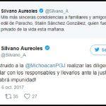 Silvano Aureoles informó que dio instrucciones a la Procuraduría General de Justicia del Estado para realizar las diligencias correspondientes