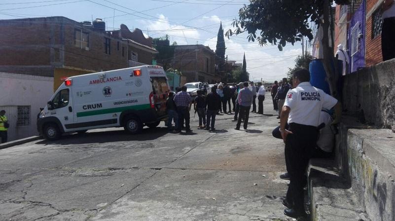 Tras el asesinato del elemento policial el área fue acordonada por sus propios compañeros donde personal de la Fiscalía del Estado junto con el área de la Unidad Especializada en la Escena del Crimen