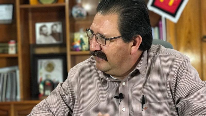 Sandoval Flores expresó que la gente hoy está más informada y se da cuenta de quiénes en realidad buscan servirse del pueblo y no servir al pueblo