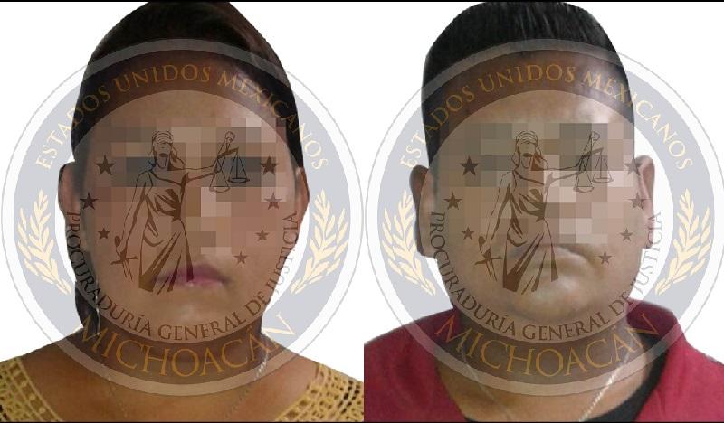 Se trata de Ramón F., y Alma Rosa Ch., quienes fueron detenidos por personal de la Dirección de Investigación y Análisis de esta Fiscalía Regional, en cumplimiento a un mandato judicial