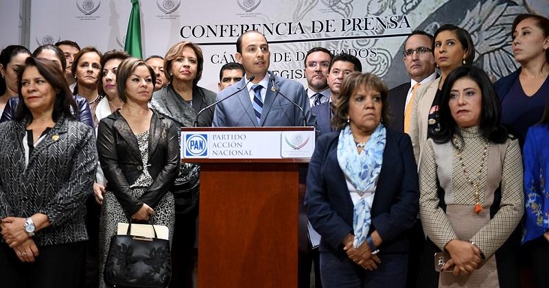 """""""El que nada debe, nada teme"""", responde Marko Cortés ante la solicitud del PRI para investigar al dirigente nacional del PAN"""