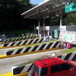Se observa la presencia de los representantes de la CNTE en las casetas de Santa Casilda, de Zirahuén, Taretan y San Ángel Zurumucapio, en la Autopista Siglo XXI, así como en las casetas de Vista Hermosa, Ecuandureo y Maravatío, de hecho, en esta última están cobrando cuota voluntaria a los automovilistas