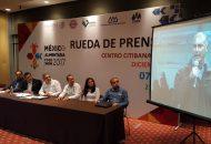 El delegado señaló que el evento se llevará a cabo en el Centro CitiBanamex e Infield del Hipódromo de las Américas de la Ciudad de México del 7 al 9 de diciembre del año en curso