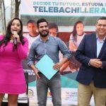 Al evento también asistió la diputada presidenta de la Comisión de Educación en el Congreso del Estado, Xóchitl Gabriela Ruiz