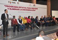 """""""La violencia y la discriminación deben terminar, no combatirlas equivaldría a reconocer que la justicia está en quiebra"""", indicó Villegas Soto"""
