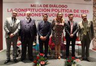 La celebración de esta mesa de debates fue organizada por el director de Archivos del Poder Ejecutivo, Ulises Romero Hernández y su equipo de trabajo
