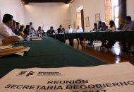 López Solís, externó que este tipo de reuniones permiten mantener la integralidad en el trabajo gubernamental y ante ello sostuvo que debe reproducirse el esfuerzo unitario que hace el Gobierno a pesar de cualquier situación