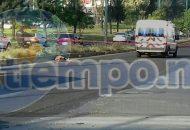 Transeúntes que se percataron del accidente solicitaron apoyo al número de emergencias, arribando en cuestión de minutos unidades de la Policía Michoacán y una unidad médica, confirmando los paramédicos que la mujer ya había perdido la vida, por lo que quedó resguardado el lugar