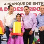 Aureoles Conejo anunció que otra de las vertientes que se reforzará en este sector es el potenciar los recursos con los municipios, de tal manera que Michoacán continúe siendo referente nacional en productos como la trucha, la nochebuena, la guayaba, el aguacate y más